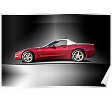 2002 Corvette 50th Anniversary Convertible III Poster