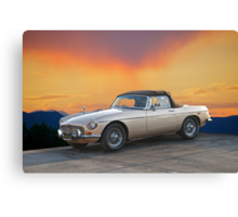 1973 MGB Roadster Canvas Print