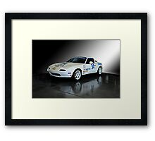 1991 Mazda Miata SCCA Spec Car Framed Print