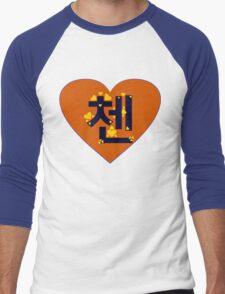 ♥♫I Love EXO-M Chen Clothes & Stickers♪♥ Men's Baseball ¾ T-Shirt