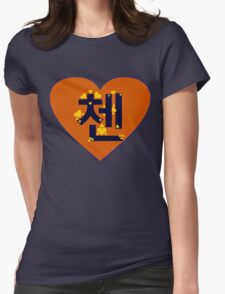 ♥♫I Love EXO-M Chen Clothes & Stickers♪♥ Womens Fitted T-Shirt