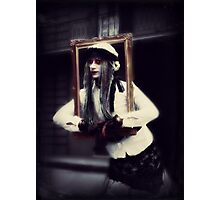 The Framed Woman Photographic Print