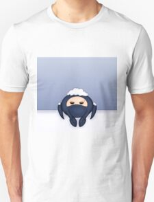 Blu Spycrab Hates Snow T-Shirt
