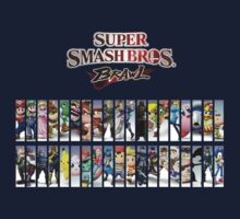 Super Smash Bros. Characters by is2b007