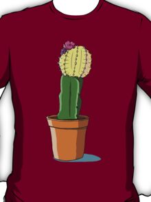 Potted Yellow Cactus T-Shirt