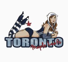Toronto Maple Leafs Chickybabe T-Shirt