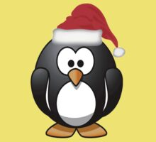 Christmas Penguin One Piece - Short Sleeve