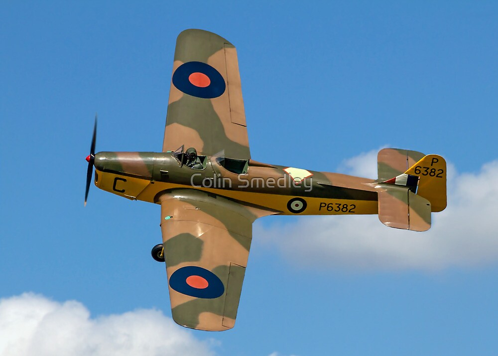Miles Magister I P6382/C G-AJRS by Colin Smedley
