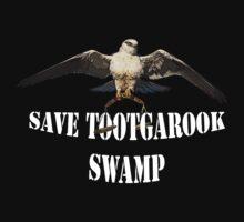 Save Tootgarook Swamp Logo (Dark Clothing) by TootgarookSwamp