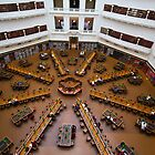 State Library Reading Room by Charles Kosina