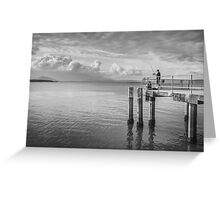 Dock of the Bay Greeting Card