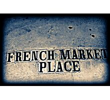 French Market Photographic Print