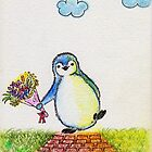 Happy Penguin by Marysue128