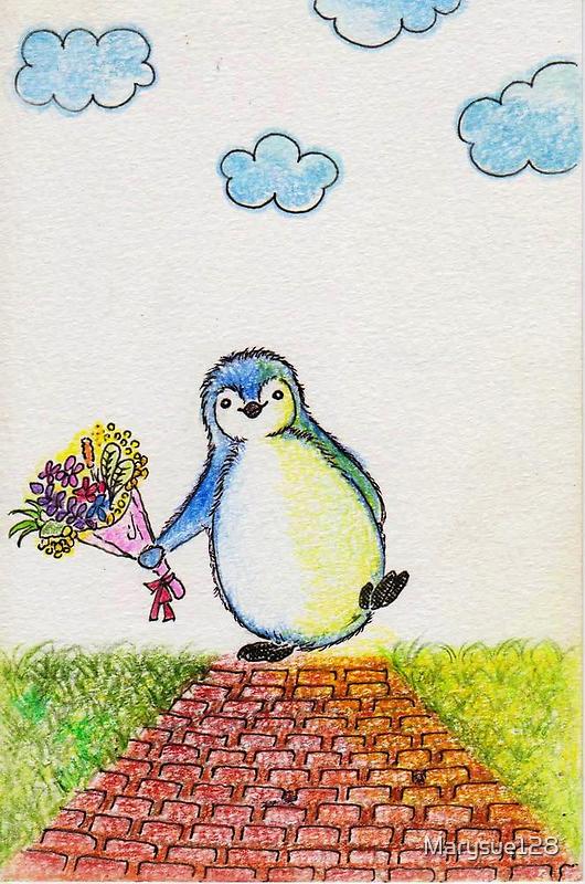 Happy Penguin by Marysue128