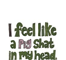 Withnail and I - pig shat in my head by julessteed