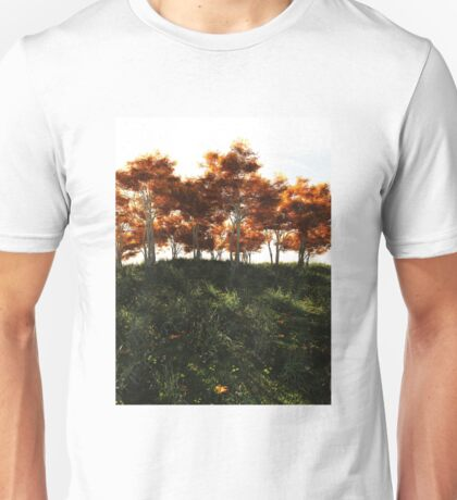 Autumn Trees in Sunshine Unisex T-Shirt