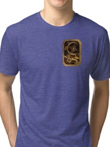 Mechanical heart small - Steam punk Tri-blend T-Shirt