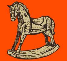 Vintage wooden rocking horse Kids Clothes