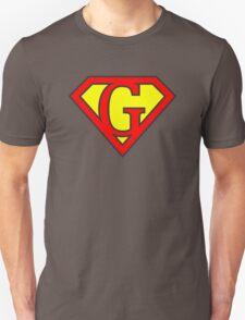 G letter in Superman style Unisex T-Shirt
