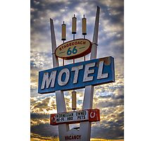 Stagecoach Motel Photographic Print