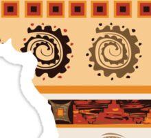 Ornamental ethnic Africa Sticker