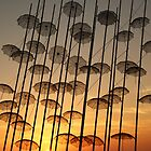 umbrellas in the sky by mkokonoglou