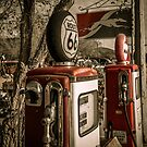 Gas Pumps by Trevor Middleton