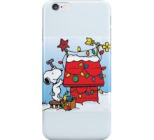 Snoopy Waiting for christmas iPhone Case/Skin