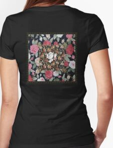 Fleetwood Mac Floral Womens Fitted T-Shirt