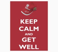 Keep Calm and Get Well (hat) by Thomas Micallef