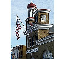 Scene from historic Annapolis, MD  Photographic Print