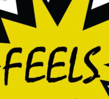 Feels T Sticker