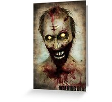 The Walking Dead - Swamper  Greeting Card