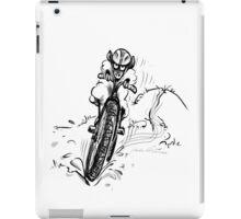 Mountain bike sheep iPad Case/Skin