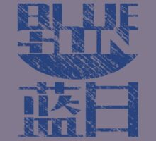 Blue Sun Corporation Logo Vintage (Firefly/Serenity, Small) by Larsonary