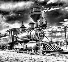 Denver Leadville & Gunnison No. 191 (N) B&W by lkrobbins