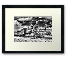Denver Leadville & Gunnison No. 191 (N) B&W Framed Print