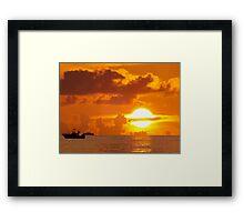 Sun Ring Framed Print