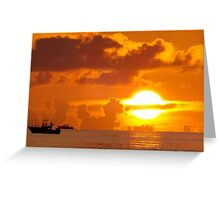 Sun Ring Greeting Card