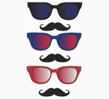Glasses with Moustaches Kids Clothes