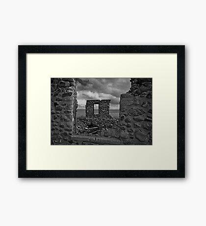 Prairie Stonehenge #2 Framed Print