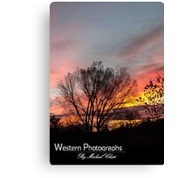Wyoming Sunrise Canvas Print
