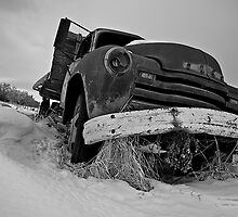 Antique Decaying GMC Truck by Mark Iocchelli