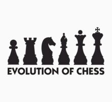 Evolution of Chess by artpolitic