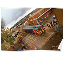 East Midlands Trains Tiltshift Poster