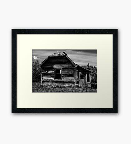 The Once Loved Shack Framed Print