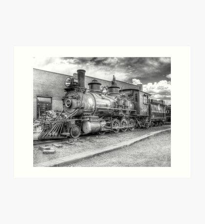 Denver & Rio Grande Western No. 346 B&W Art Print