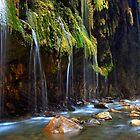 Waterfalls in Pantavrehei canyon by Hercules Milas