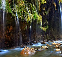 Waterfalls in Pantavrehei canyon by Hercules Milas