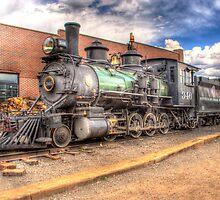 Denver & Rio Grande Western No. 346 by lkrobbins